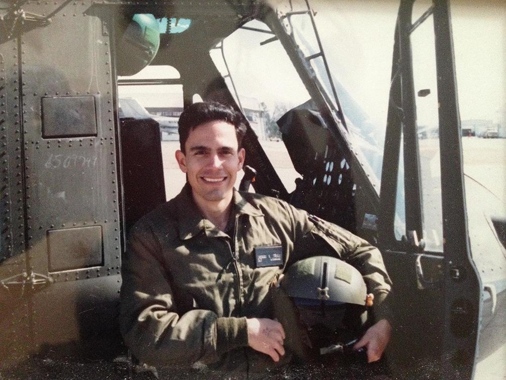 Jeff in 1985 -- Flight School, Ft. Rucker, AL