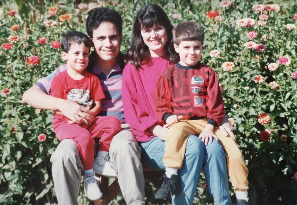 Our growing family, 1993