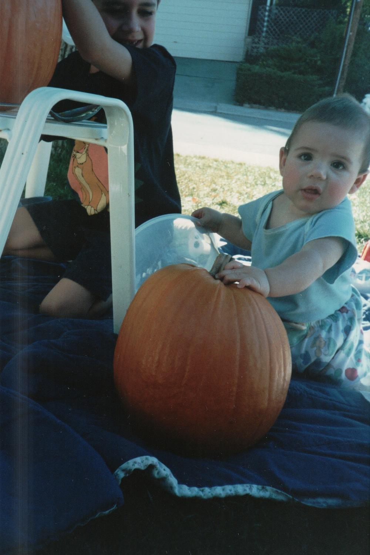 Adam's first Halloween, 1994