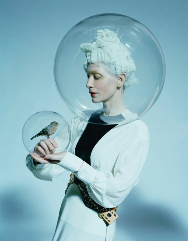 daggersfordoeeyes: Kate Blanchett by tim walker for W Magazine dec 2015
