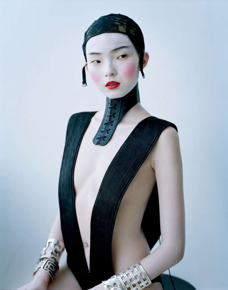 leah-cultice: Liu Wen, Xiao Wen Ju & Asia Chow by Tim Walker for W Magazine March 2012