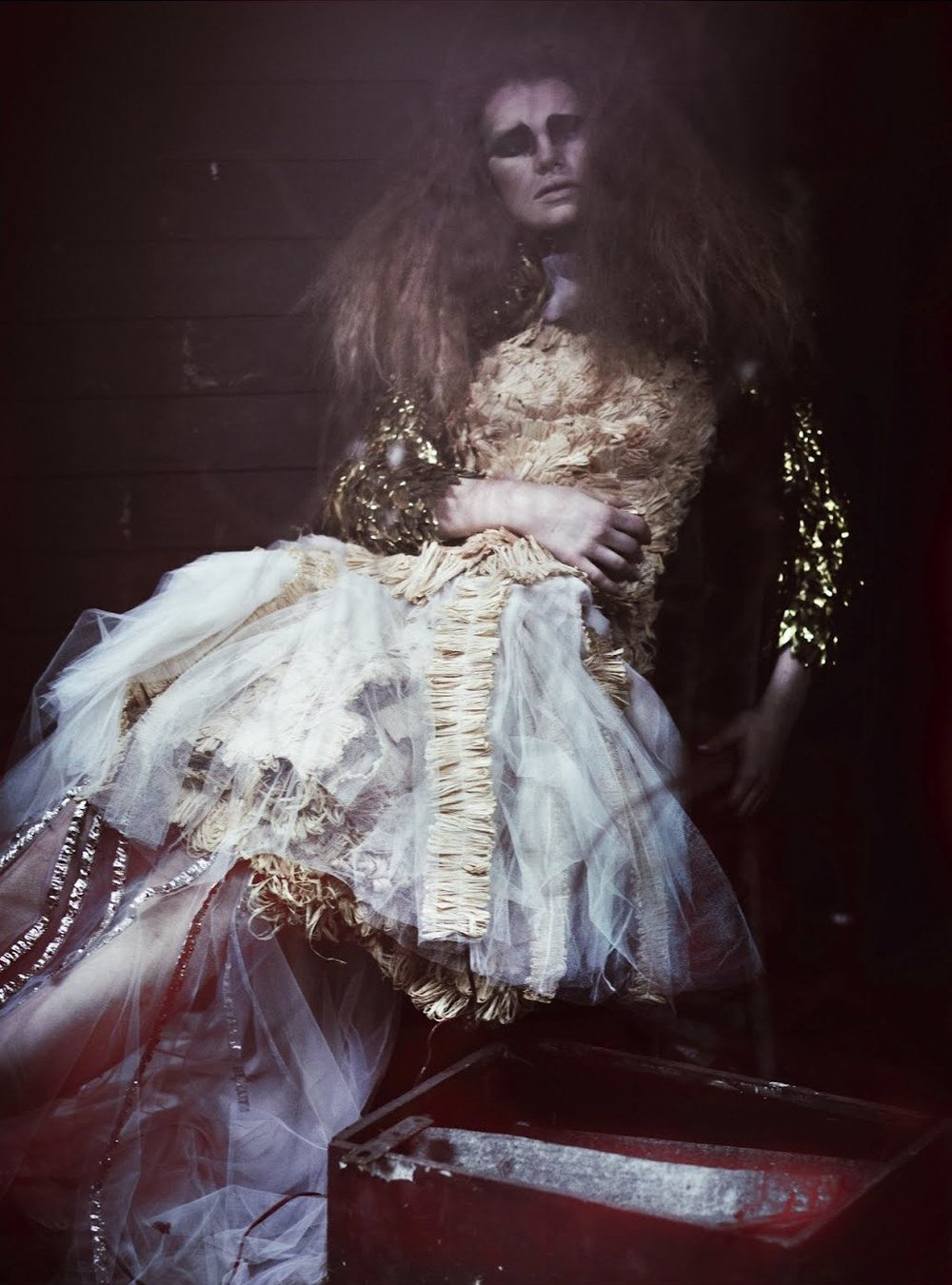 photographicpictures: Kelly Mittendorf by Serge Leblon - John Rocha + Vionnet S/S 2012