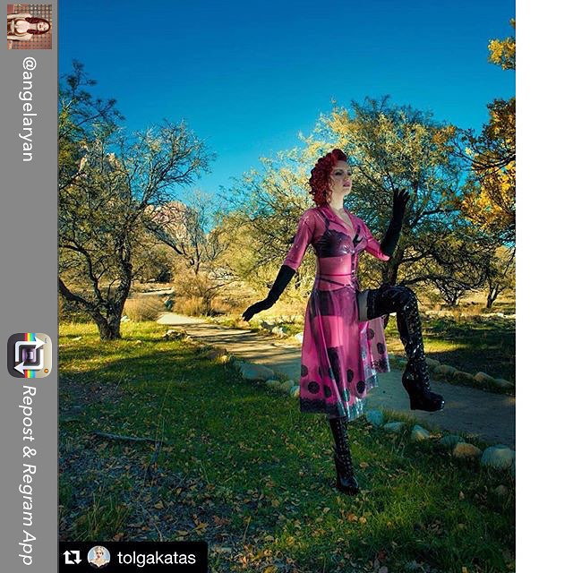 Repost from @angelaryan - reposting from @tolgakatas  ・・・  #magical #angelaryan #vegas #photographer @tolgakatas #mua @makeupbyadrienne #hair @tgytmr #assistant @philedelstein #model @angelaryan #fashion #latex #lingerie #redhair #redhead #altmodel wearing #babyloveslatex by @reneemasoomian #latex @ditavonteese #lingerie @ellie_shoes @bettiepageshoes #boots #latexdress #latexmodel #customlatex #couturelatex #bespokelatex #latexlace #lacelatex #transparentlatex #nycfashion #nycfashiondesigner #latexfashion #fashionlatex #fetishfashion