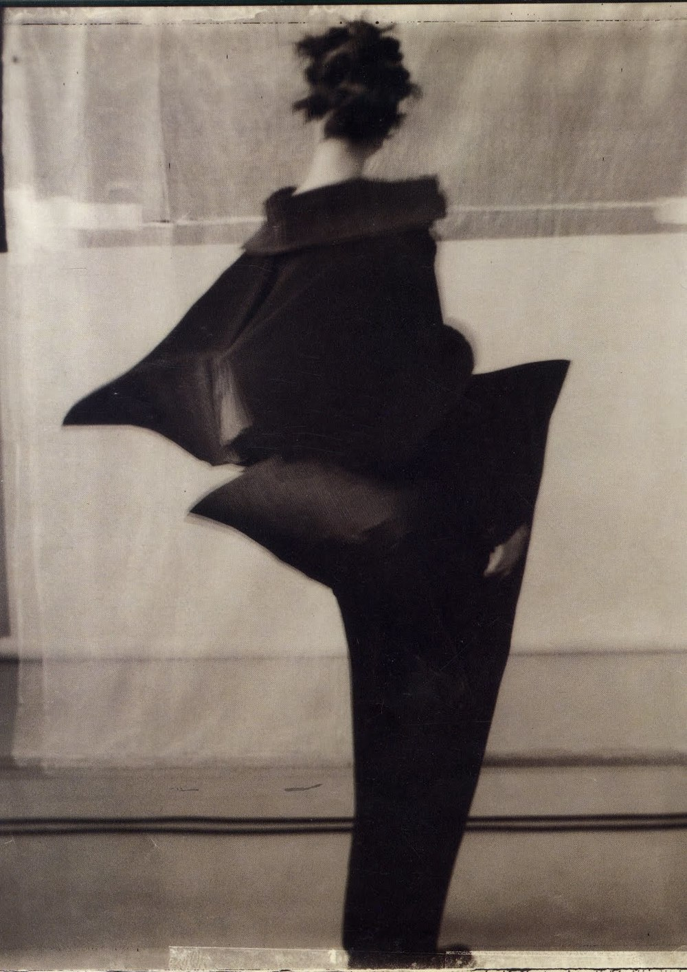 themusewithinthemusewithout :     ~Elusive yet definite~  Issey Miyake, 1992.  Photo by Sarah Moon.