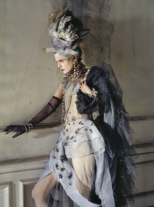 anachronisticfairytales :     Tim Walker John Galliano