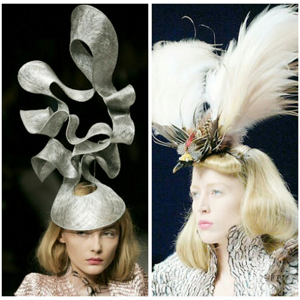 "jamespresents: Philip Treacy hats specially created for the Isabella Blow-inspired collection from Alexander McQueen titled ""La Dame Bleu"""
