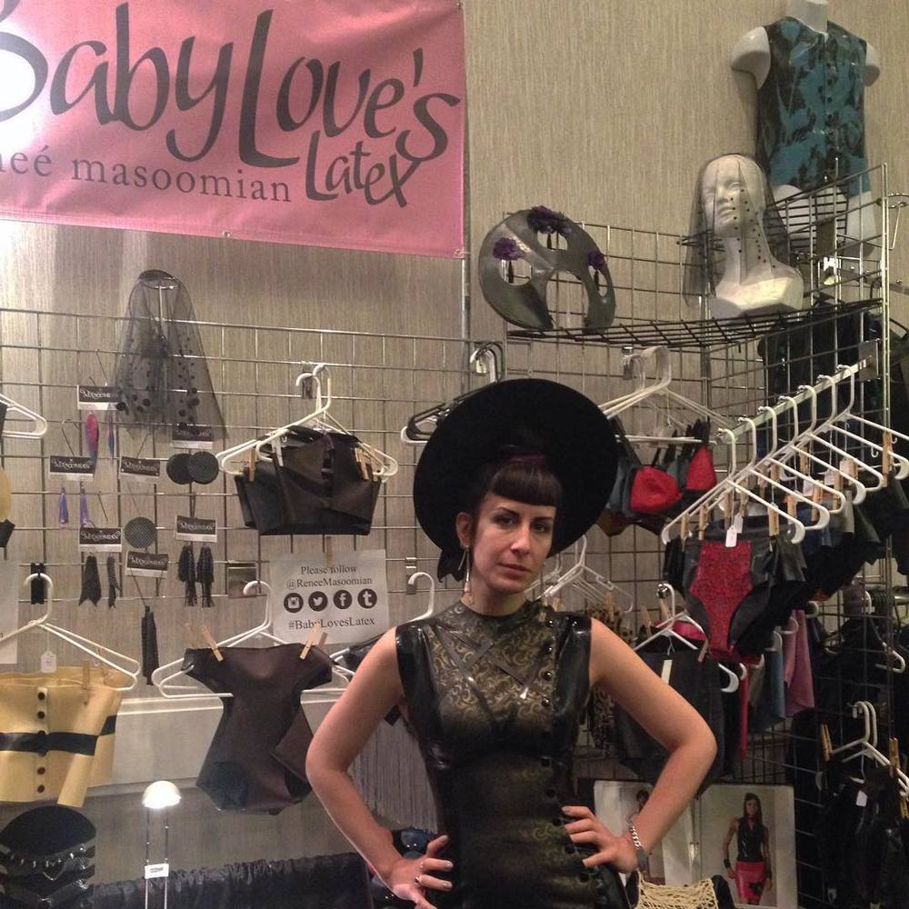Hey @fetishcon don't forget to stop by the #babyloveslatex booth early to pick up some of our new designs before someone else does. #fetishcon #fetcon #fetcon2015 #latex #latexfashion #fashionlatex #latexdesigner #designerlatex #fetishcon2015