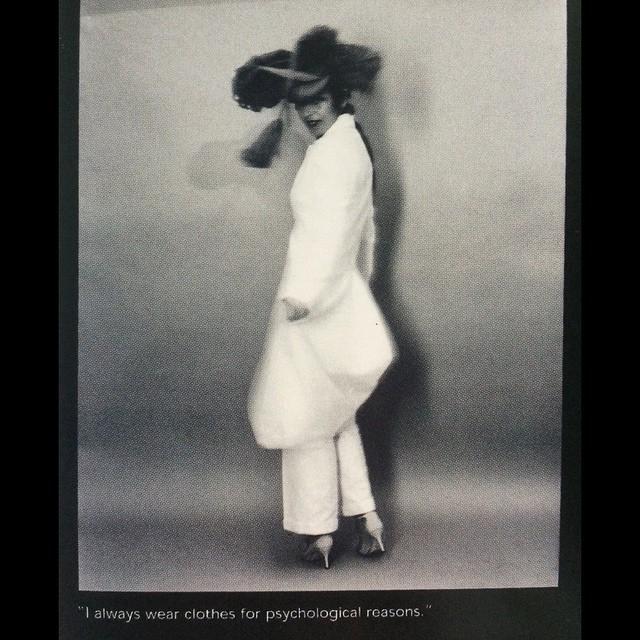 chimaeraman :     @isabella.blow ph #markmattock #idmagazine #1997