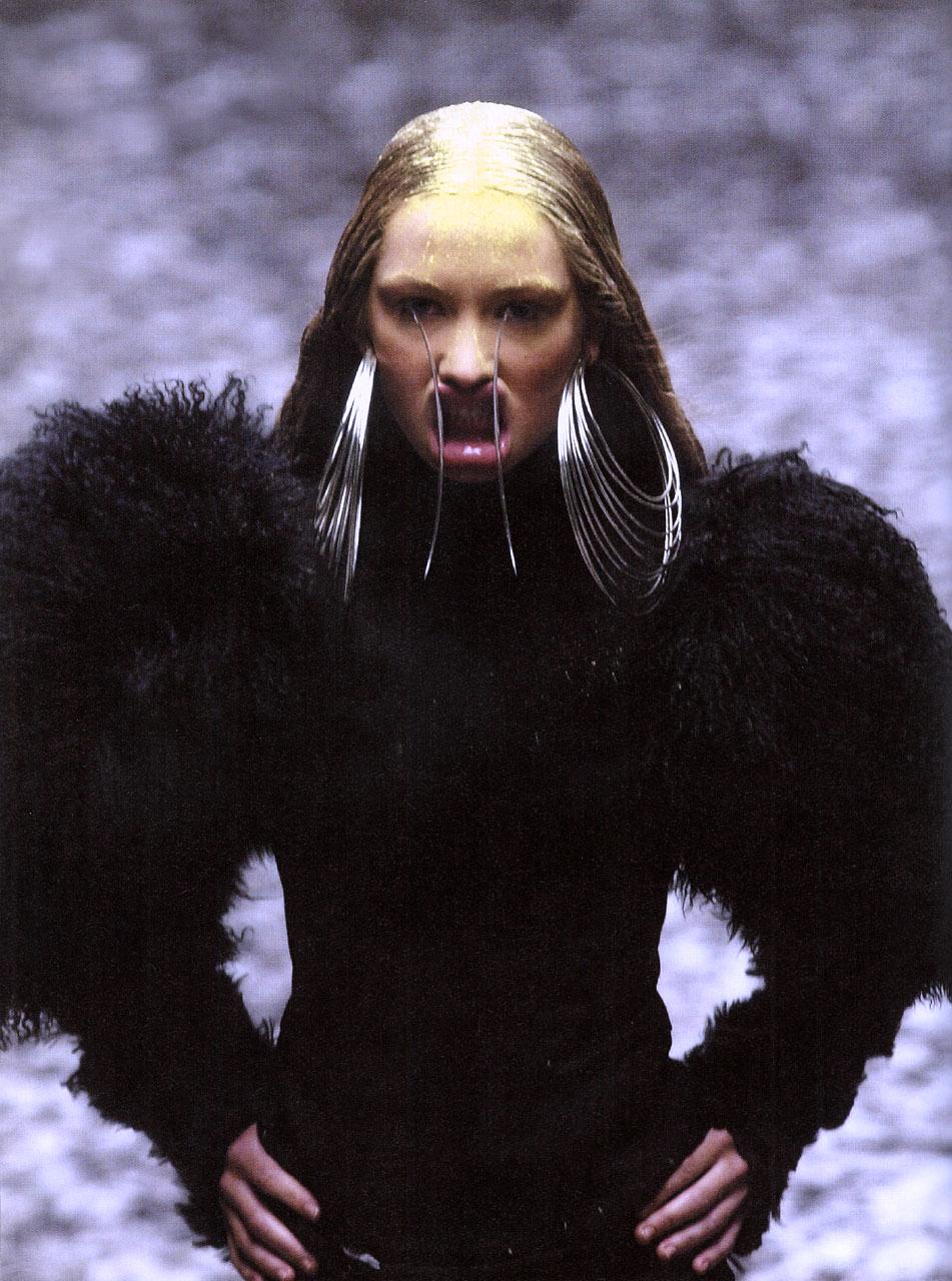 ejakulation: 'Eshu', Alexander McQueen, F/W 2000