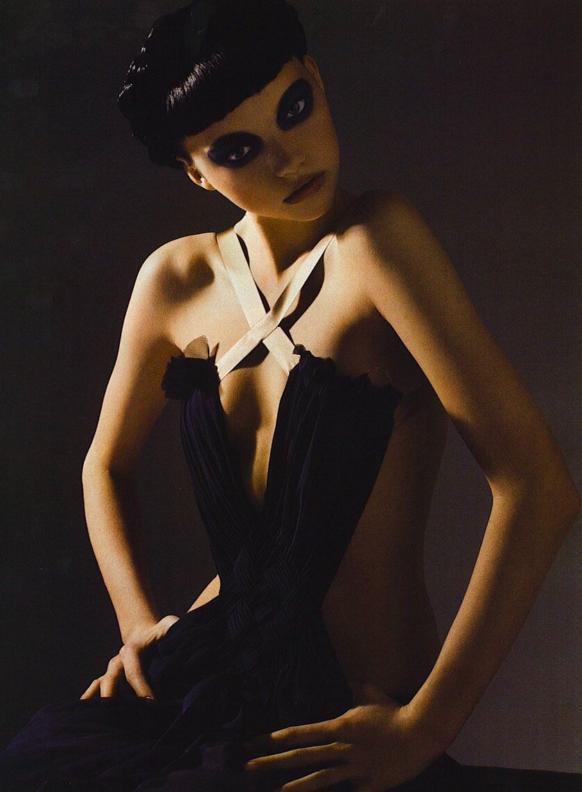 bleachyourself: Gemma Ward by Mario Sorrenti for Vogue Italia, September 2005
