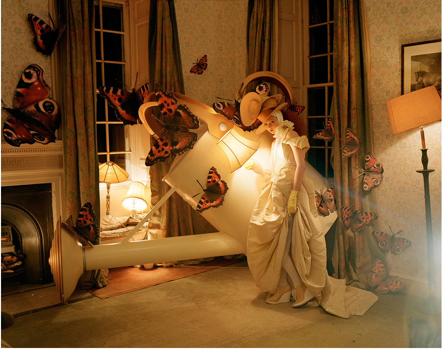 "creccord1: Lily Cole in ""Imaginary Fantastic Bizarre"" by Tim Walker for Vogue Italia July 2005"