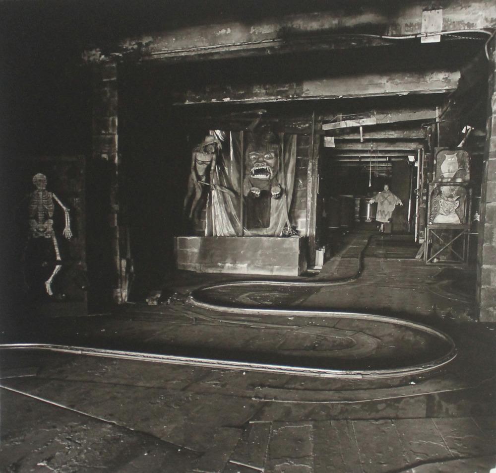 photographicpictures :     House of Horrors, Coney Island, 1962 - Diane Arbus