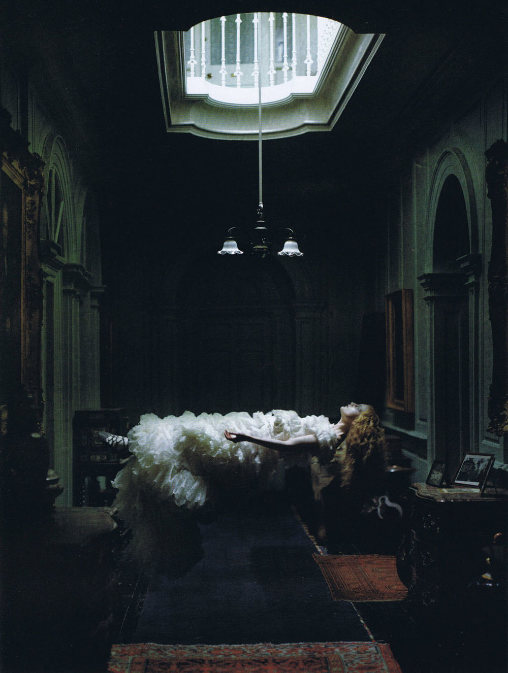 photographicpictures :      Guinevere van Seenus by Tim Walker - Chanel Haute Couture Fall 2009