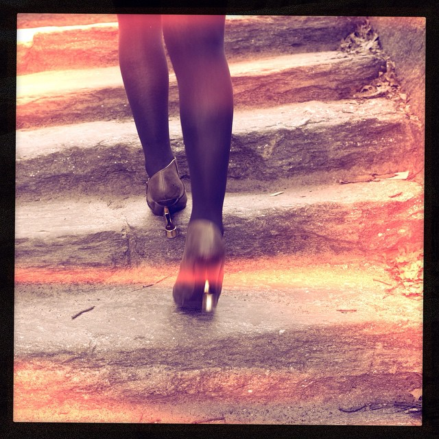 Just another not so fun day of travel so here is a picture of my #unitednude heels being stalked in #centralpark by @joshuajanke. #artphotography #artphotogram #fashionphotograpy #nycphotographer #darkstyle #darkfashion #dark #fashion #style #streetstyle #nycstyle #nycstreetstyle @unitednude @unitednude_london
