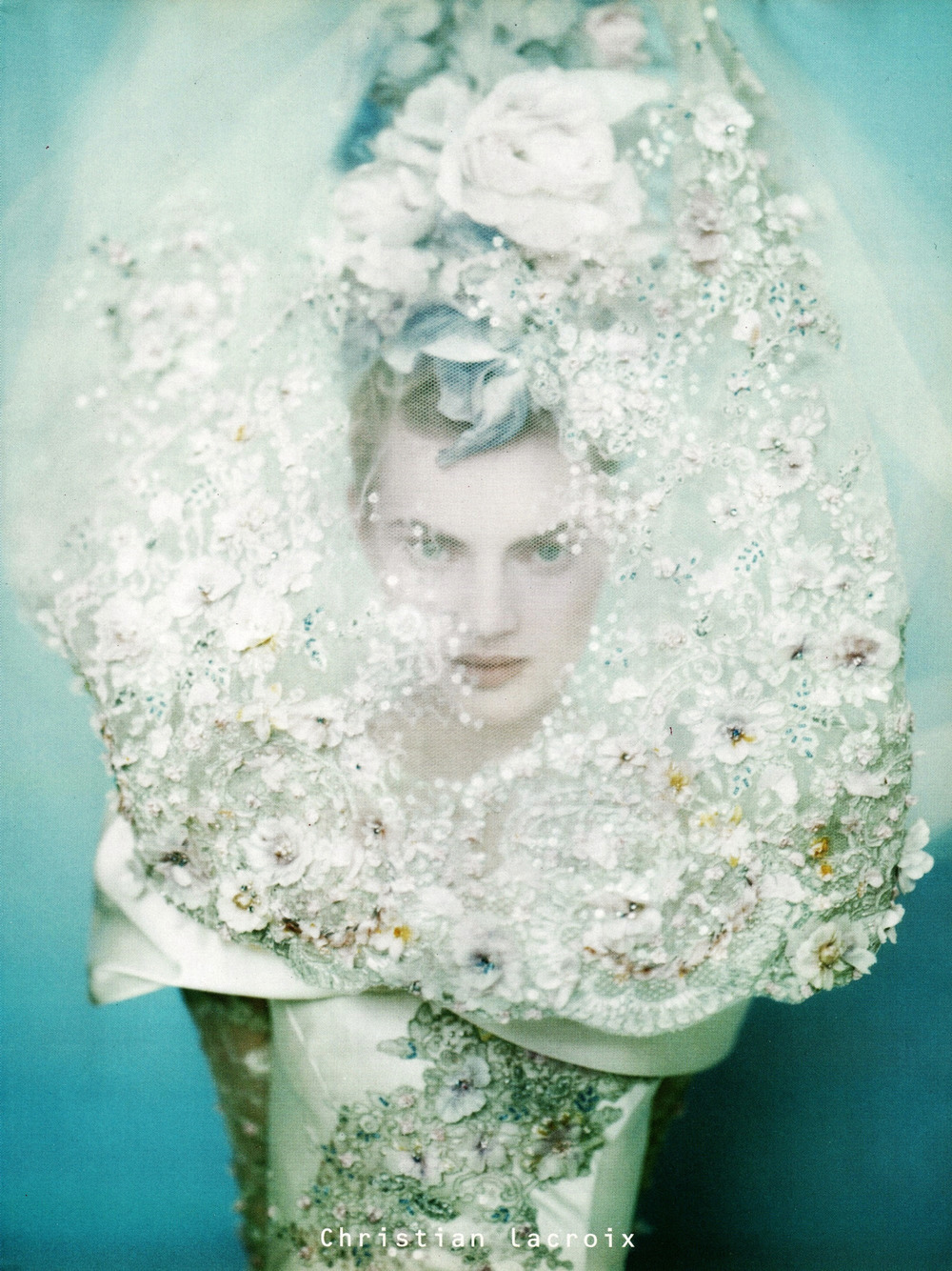 photographicpictures :     Guinevere van Seenus by Paolo Roversi  -  Christian Lacroix Haute Couture s/s 1996