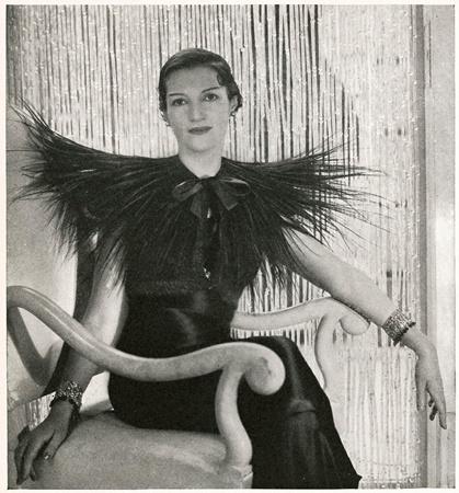 indypendentstyles :     Elsa Schiaparelli 1933