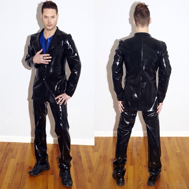 Over here at Renee Masoomian have been reorganizing the company and we are proud to announce our new latex menswear will be sold under our Soliloquy line. We will still be making custom work under our #BabyLovesLatex line but we thought the guys might appreciate there own latex line. Here is one of our men's suits just to give you guys an idea of what we've cooked up for you. #Soliloquylatex #menswear #menslatex #latex #latexcouture #latexclothing #latexfashion #latexfetish #latexphotography #fetishfashion #fashionlatex #fashionphotography #darkstyle #darkfashion #dark #style #fashion (at reneemasoomian.com) http://www.reneemasoomian.com/soliloquyouterwear/classic-blazer