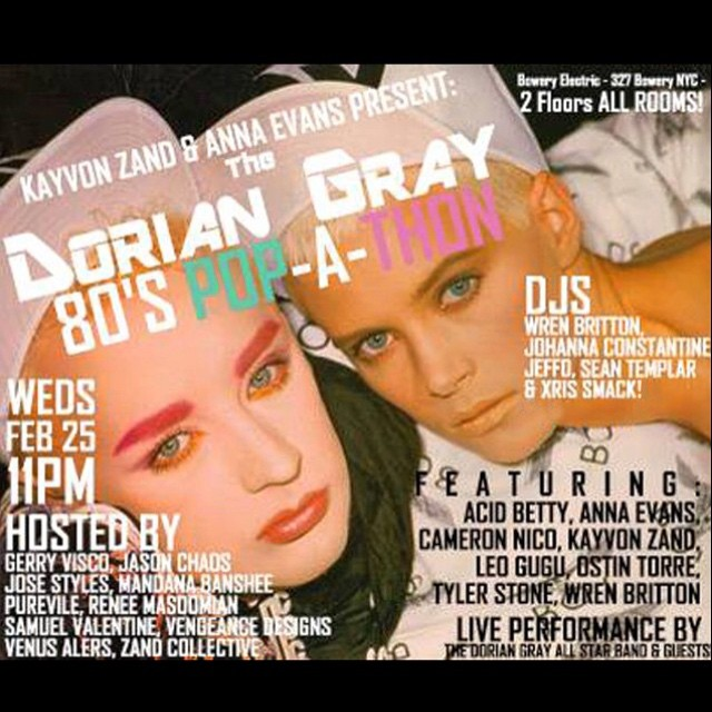 This Wednesday I will be publicly celebrating my birthday at Dorian Gray. Come stop by and lets party. RSVP on Facebook for reduced admission. #nycnightlife