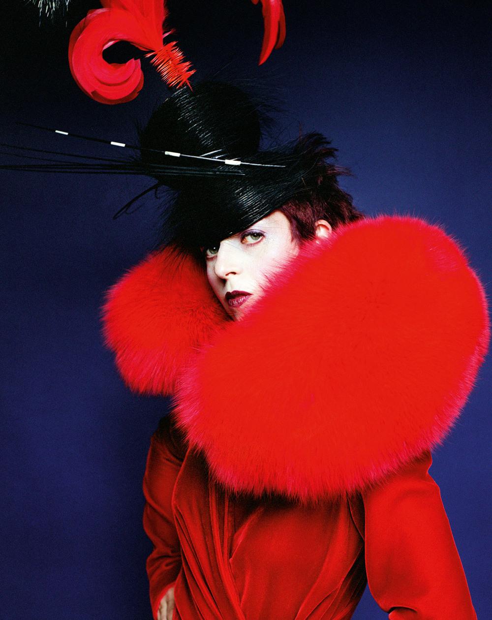 fashionpack: Isabella Blow by Mario Testino, 1997