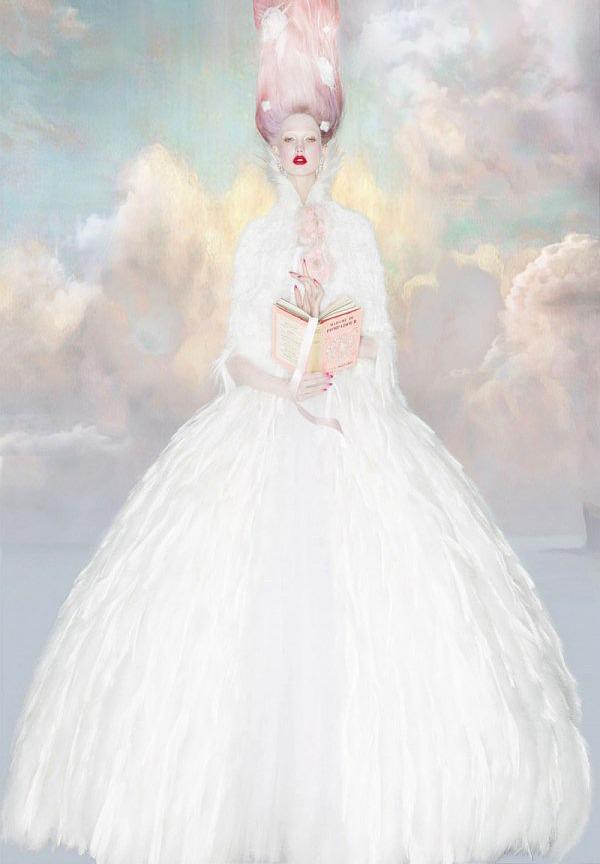 c-a-n-d-y–k-i-s-s-e-s :     Karlie Kloss by Nick Knight for W Magazine 2013