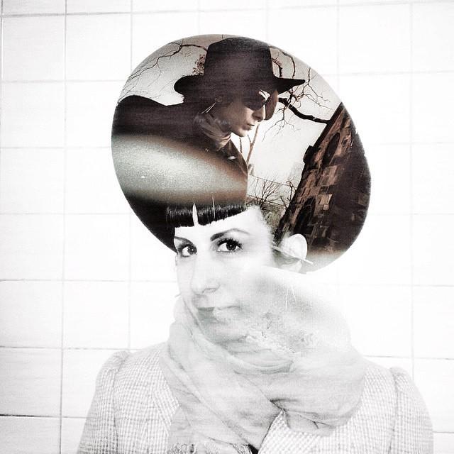 #blackandwhite #doubleexposure of me by @JoshuaJanke. #artphotography #portrait #blackandwhitephotography