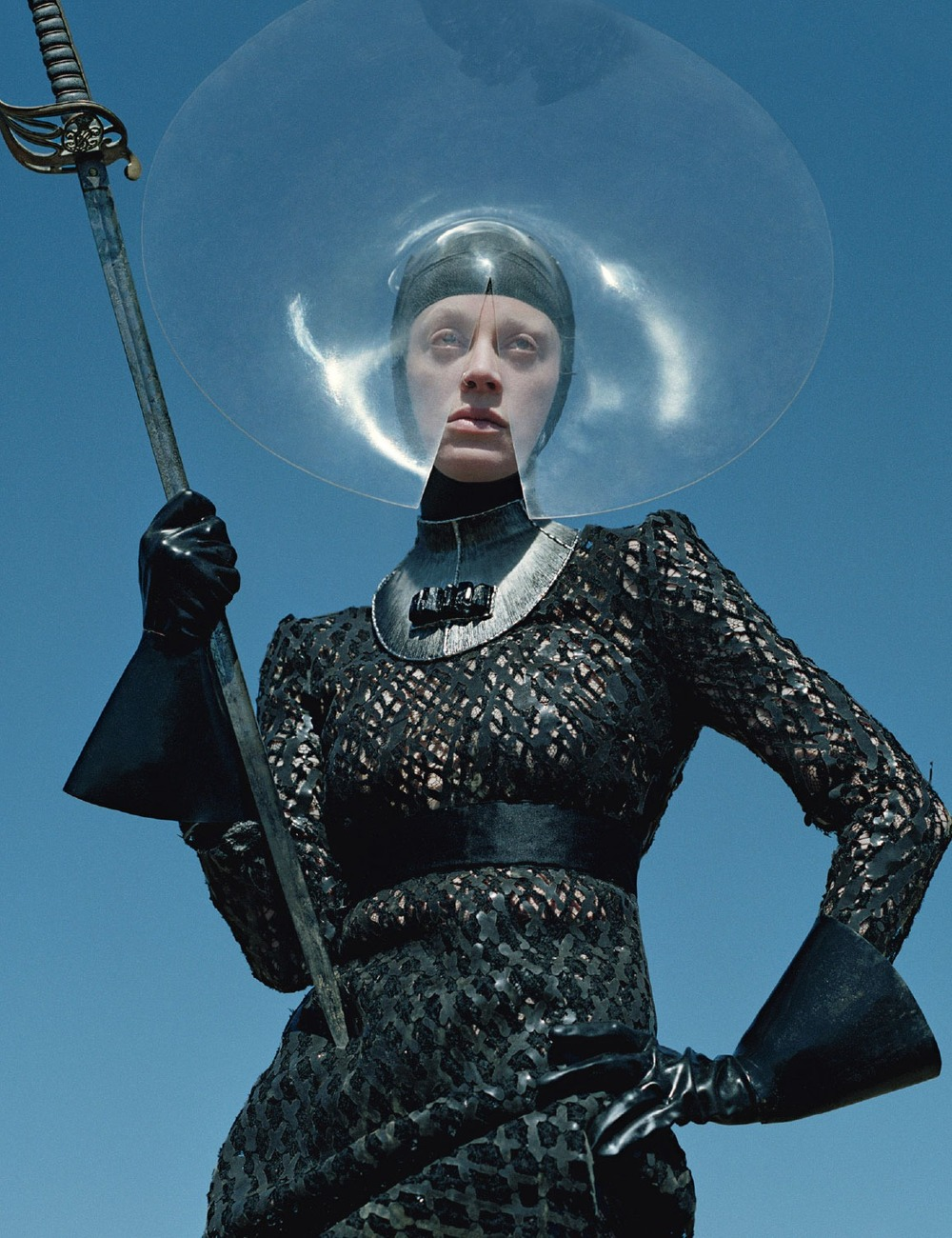 a-state-of-bliss: W Magazine Sept 2012 'Dame Of Thrones' - Kristen McMenamy by Tim Walker