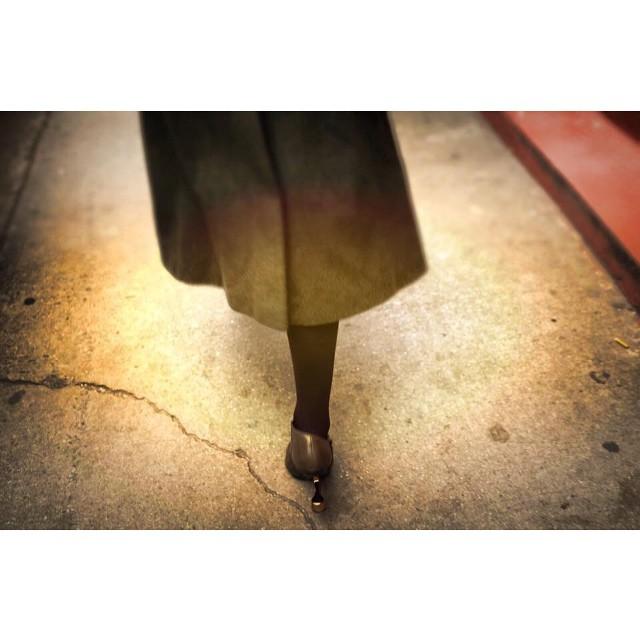 Walking in my #unitednude heels by @joshuajanke. #streetphotography #NYCstreetphotography #nycfashion #nycstyle #streetfashion #nycstreetfashion