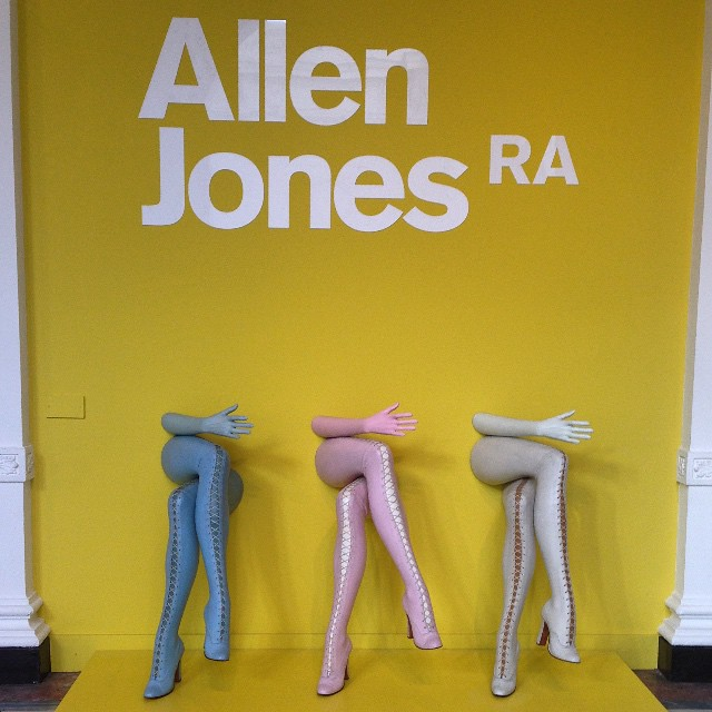 Last day in London and stopped by the #AllenJones exhibit.