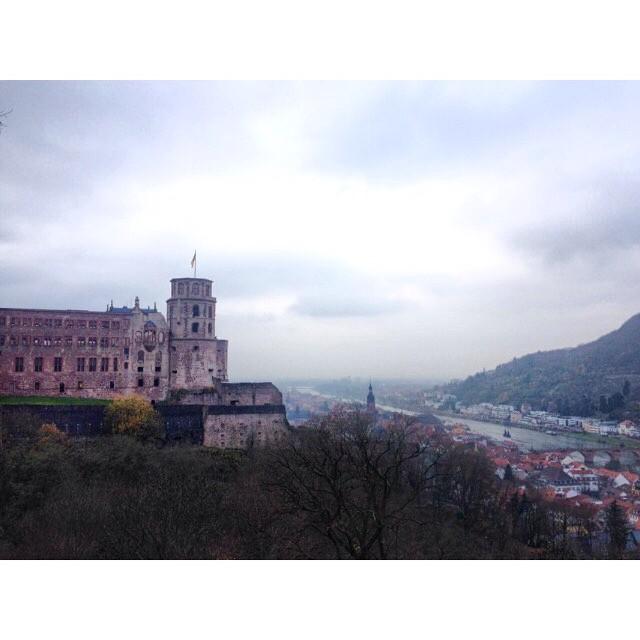 Just another storybook like photo of #Heidelberg. #Heidelbergcastle