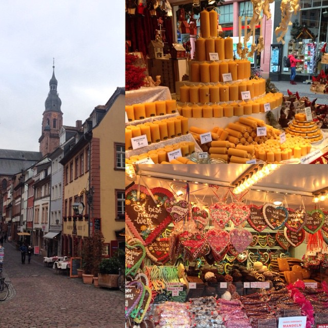 Had a quick 24 hours in #Heidelberg then flew out this morning and just landed in Amsterdam. Here are some treats from the Christmas market.