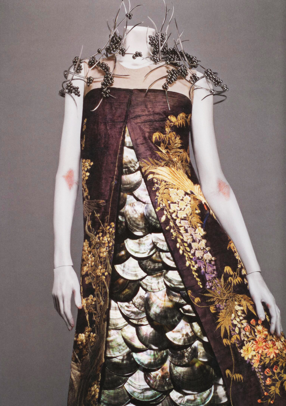 "notordinaryfashion: from Savage Beauty, ""Voss"" Alexander McQueen S/S 2001"