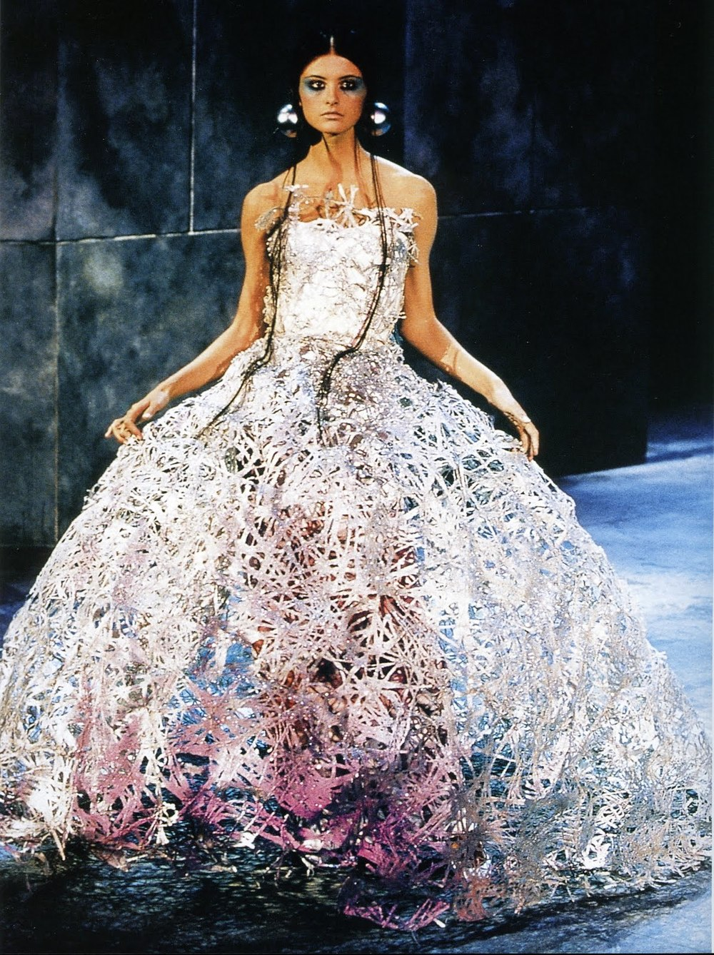 play: Alexander McQueen for Givenchy Haute Couture, S/S 2000
