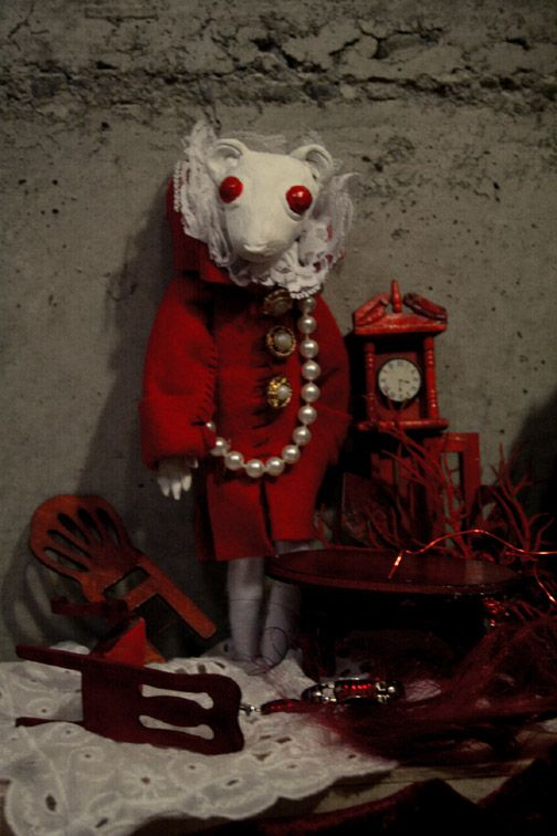 "dollymacabre: Still from ""Blood Tea and Red String""."