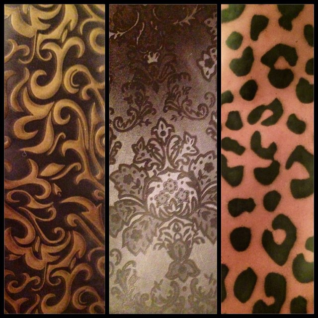 We have just received our order of patterned #latex from over seas and can't wait to play around with it and see what #babyloveslatex goodies we come up with.  #latexfashion #latexfetish #printedlatex #leopardprint