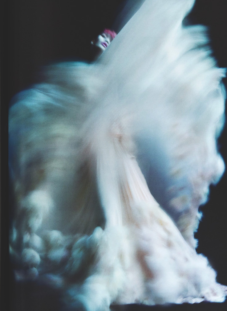 somethingvain: Chanel Haute Couture S/S 2011, Ming Xi by Nick Knight for V Magazine Spring 2011