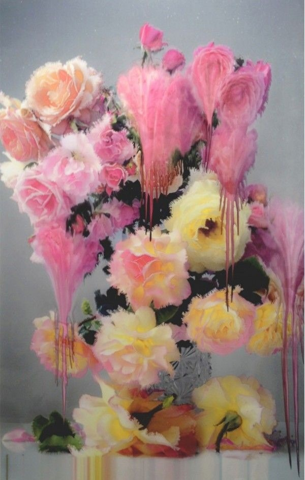 aestheticgoddess :     Melting Flora by Nick Knight