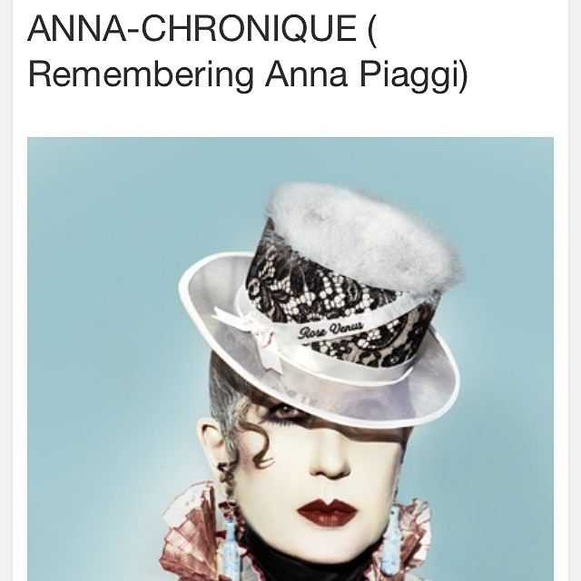theflamboyant: Anna-Chronique, a piece on Anna Piaggi I wrote for Candy mag with pics by Edland Man is on the blog now http://theflamboyantblog.wordpress.com/2014/04/22/anna-chronique-remembering-anna-piaggi/. #annapiaggi #icons #fashion