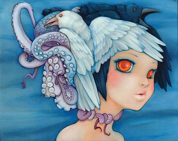 "camilladerricoart :     Camilla d'Errico ""Sea to Sky"""