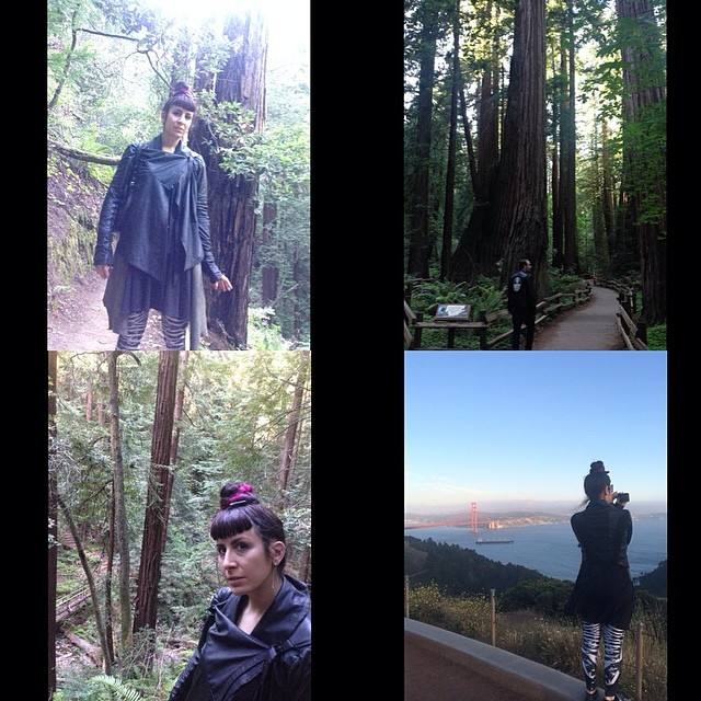 Some #outdoor fun, yesterday in the #redwoods.