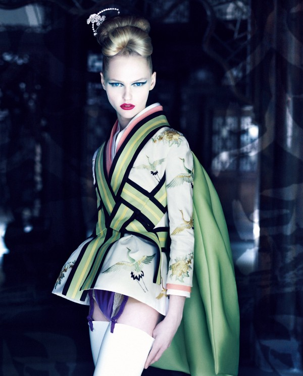 obelynn :      Dior Couture By Patrick Demarchelier