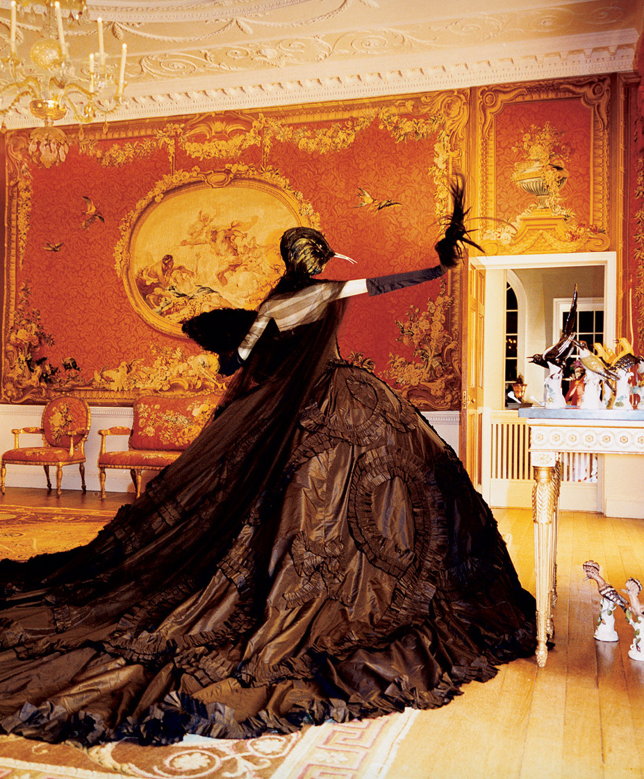 the-moustached-king: 'An Affair to Remember', Vogue US July 2006. Christian Dior Spring Summer 1998 Haute Couture