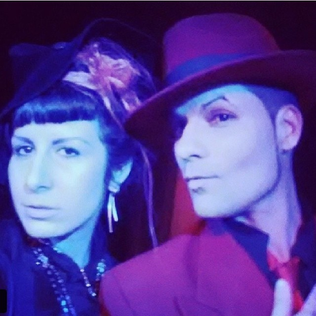 @muffinheadnyc and I ant #doriangray.