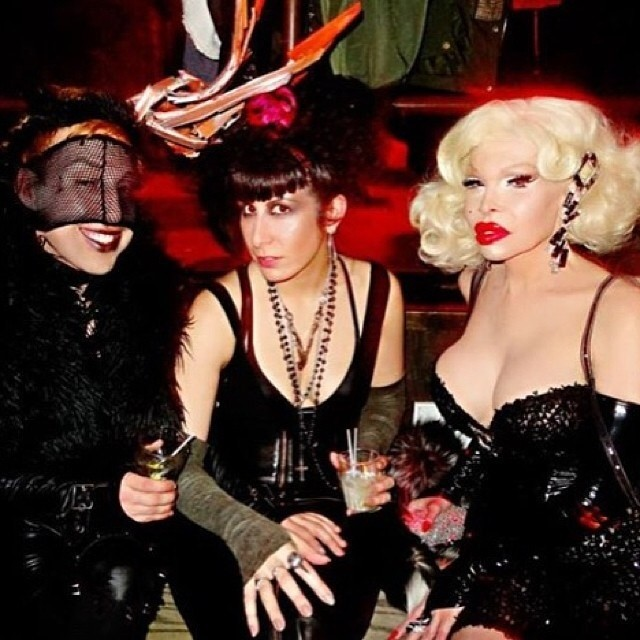 A photo from last weeks #doriangray of @amandalepore, @newyorkskye, and myself. Come out tonight for some fun. And don't forget to say my name at the door for free admission. #nycnightlife #nycgoth