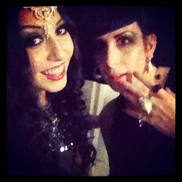 #regram from @fashionator77 for #doriangray. #goth #gothic #nightlife #nycfashion