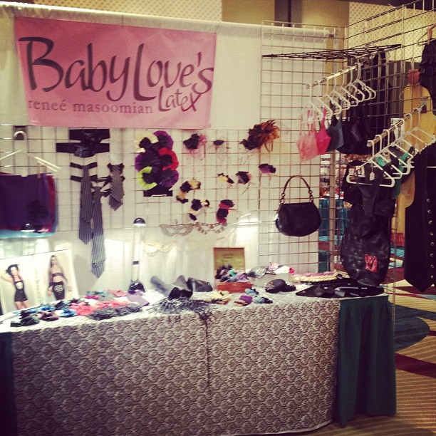 Come check out our booth at #fetishcon. #fetcon #latex #babyloveslatex #latexfashion