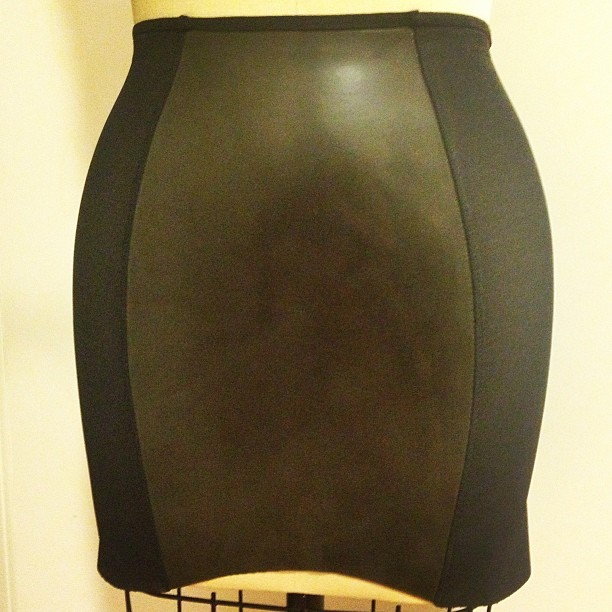 Our original design: #latex and #powermesh #miniskirt. #latexfashion #latexskirt #babyloveslatex