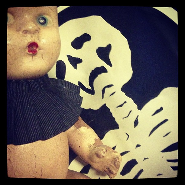 Outfit preview for tonight's CATWALK. #latex #skeleton #baby #doll