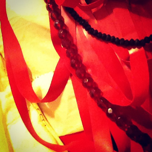 Tonight's outfit preview for the valentines ball.
