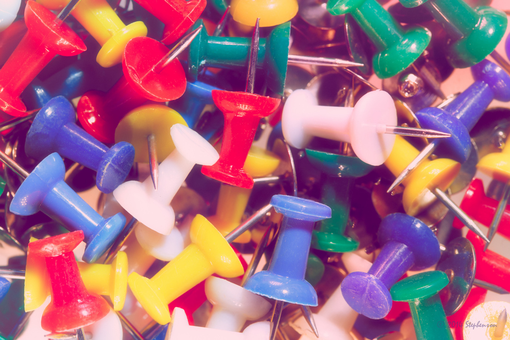 Colorful Tacks
