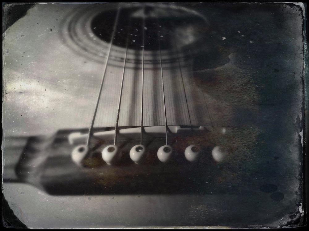 Guitar Tintype